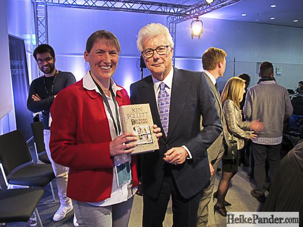 Heike Pander, Ken Follett, Buchmesse Frankfurt/Main