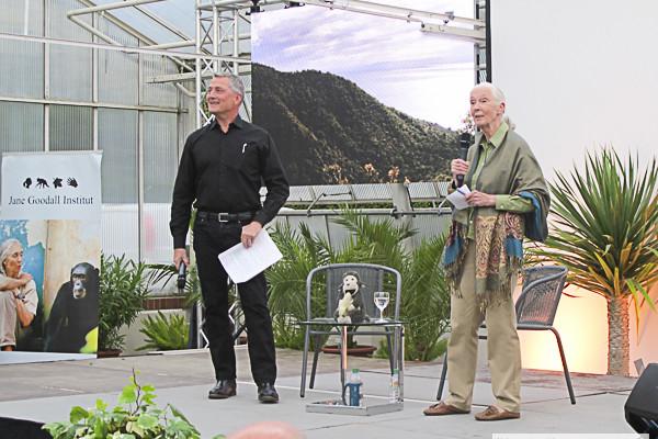 Jane Goodall, Botanischer Garten Berlin