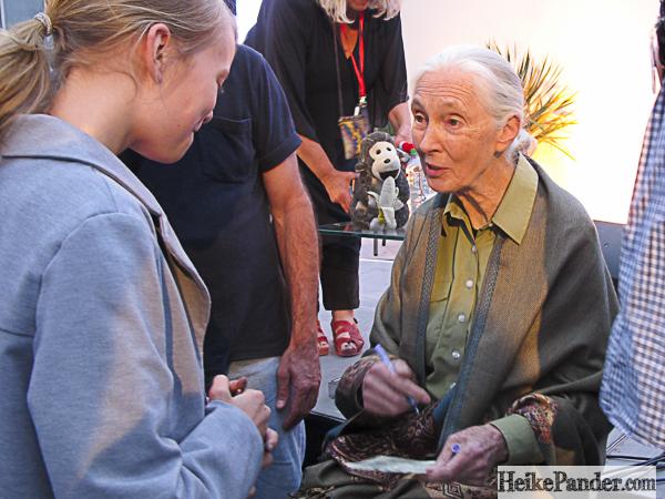 Signierstunde mit Jane Goodall