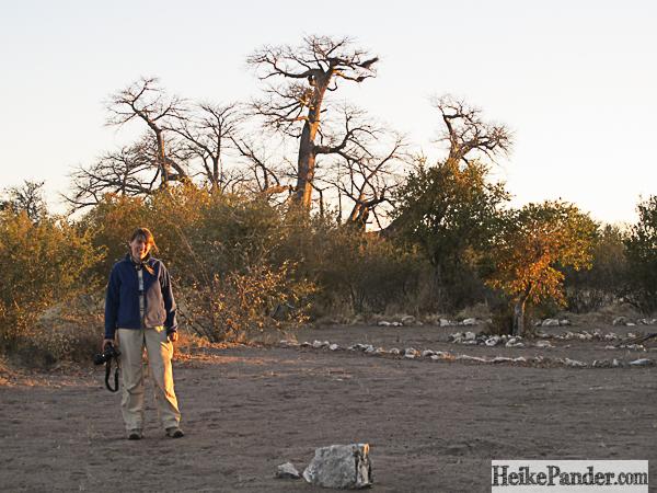 Holboom, Namibia: beim Fotografieren