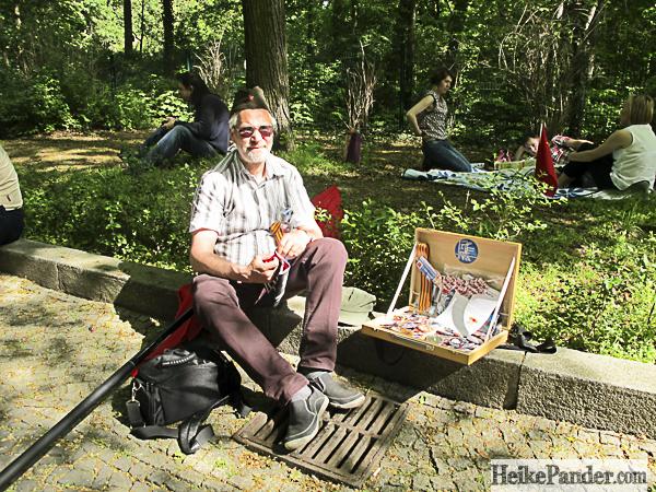Besucher, Treptower Park