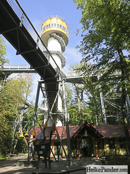 Baumkronenpfad Hainich, Turm