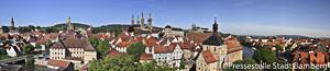 Panorama View of Bamberg