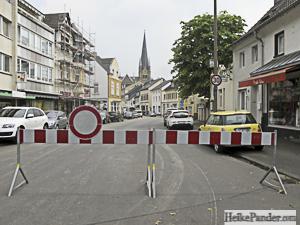 Flooding in Bonn-Mehlem