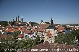 Bamberg, Altstadtshilouette