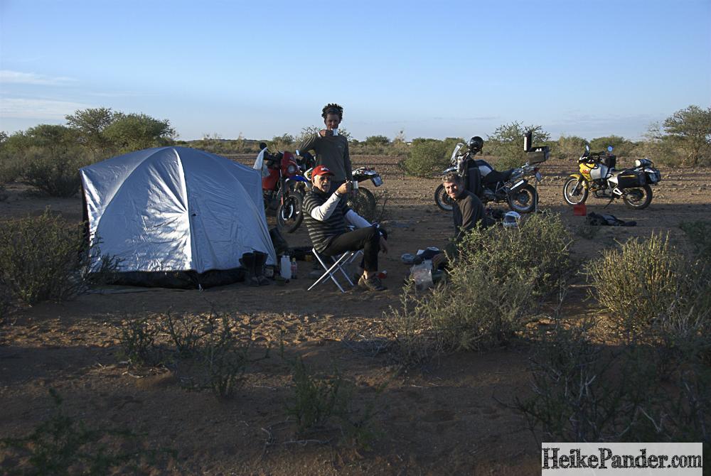 Wild Camping, Namibia