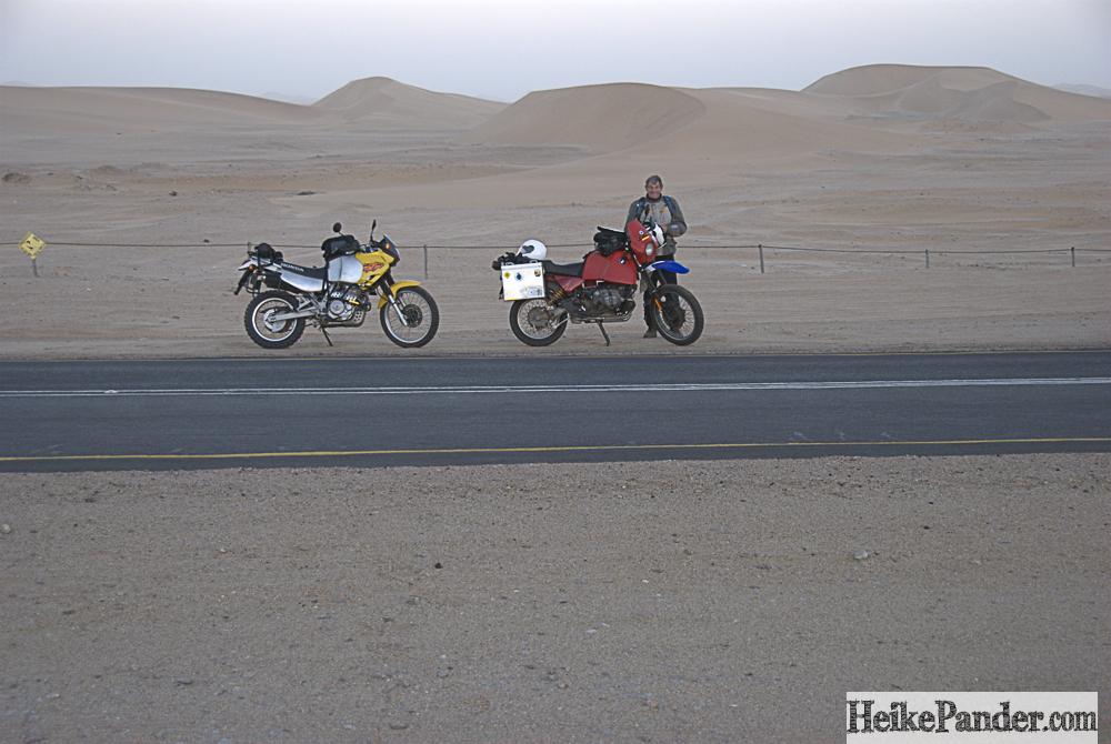 Strasse nach Walvis Bay, Namibia