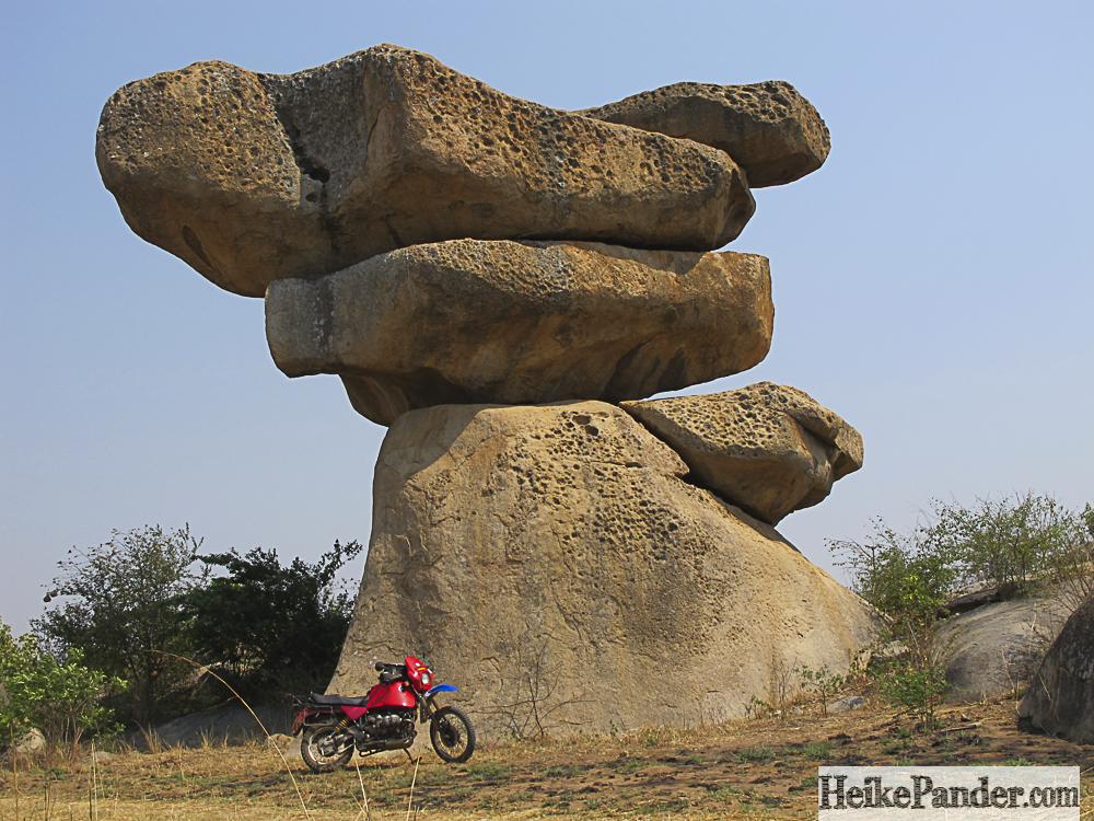 Balancing Rocks, Harare, Simbabwe