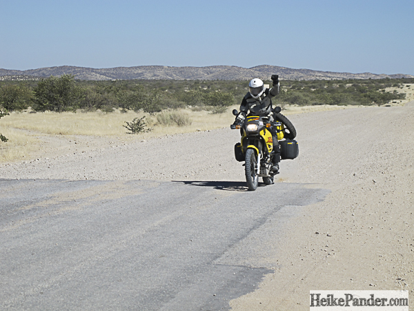 Pad, Namibia