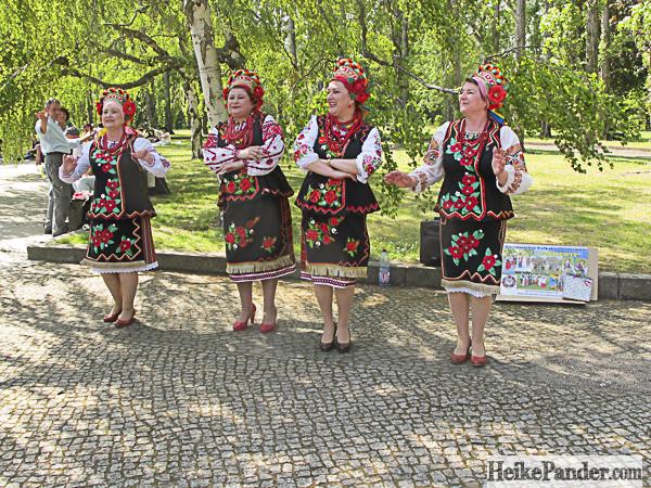 Folkloregruppe, Treptower Park