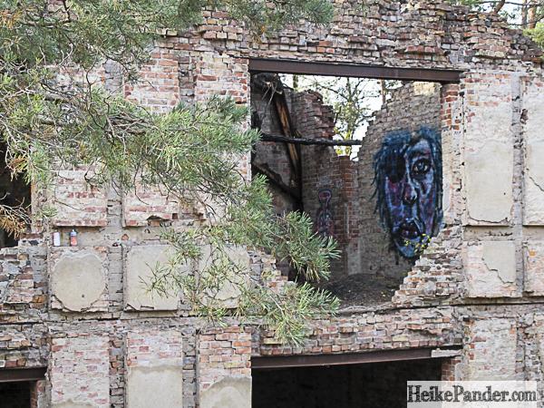 Detail, Ruine, Beelitz