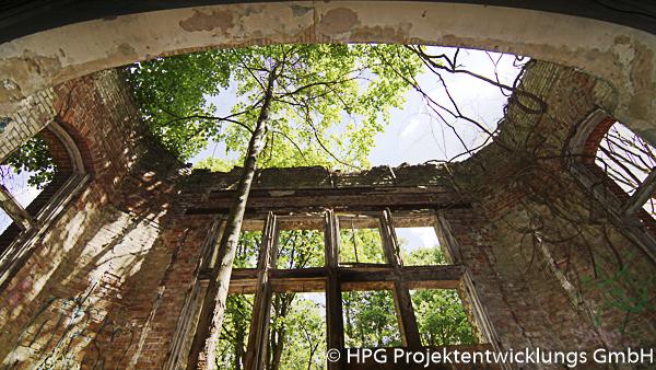 Beelitz, Ruine