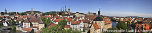 Panorama View of Bamberg