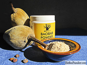 Baobab Fruit, Seeds and Fruit Powder, Heike Pander