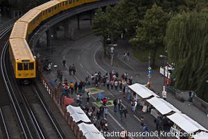 OpenAirGallery, Oberbaumbrücke, Stadtteilausschuß Kreuzberg e.V.