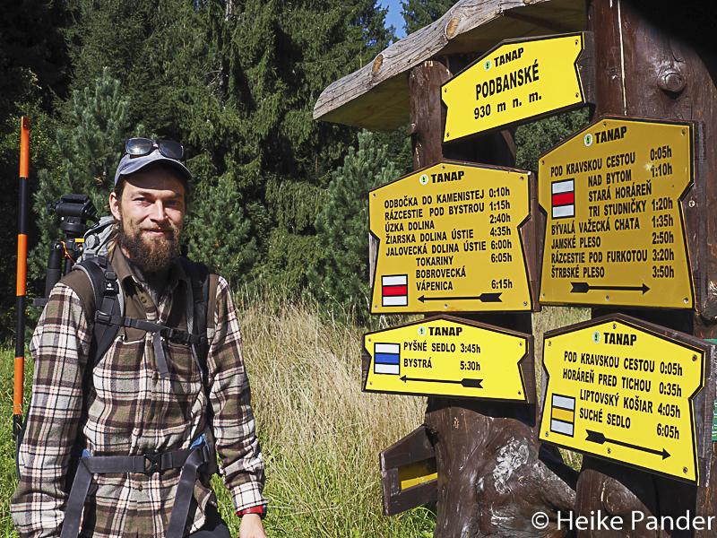 Jan Barilla, Bärenwanderung, Slowakei