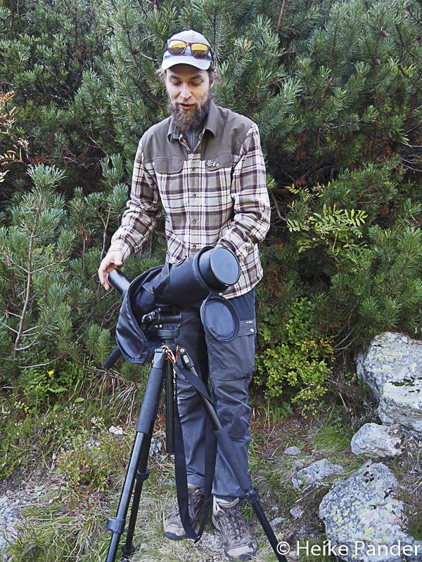 Jan Barilla, Bärenexperte, Wanderung, Slowakei